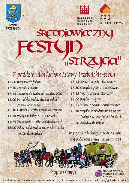 Strzyga Festyn średniowieczny Gminne Centrum Kultury I